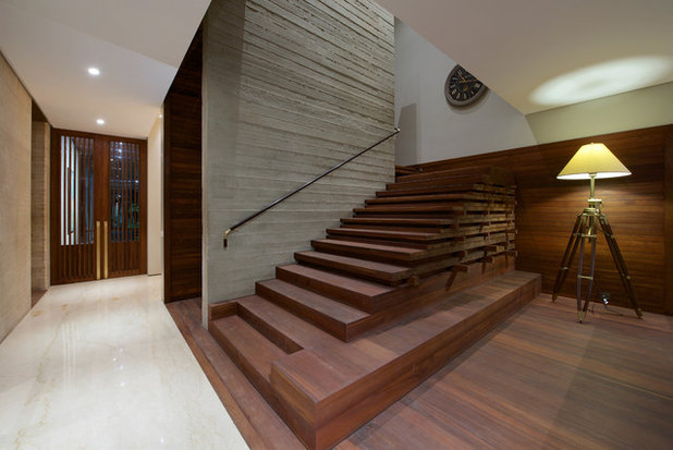 Contemporary Staircase by SPASM
