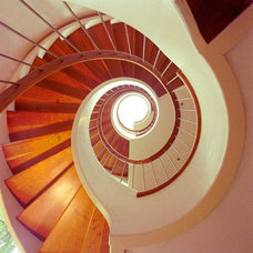 Modern Staircase by Donald K. Olsen, AIA Architects
