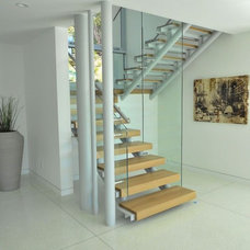 Modern Staircase by Jay Vanos Architects