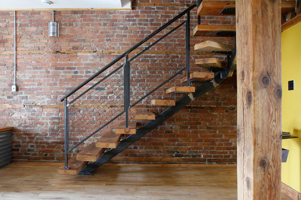 Industrial Staircase by Esther Hershcovich