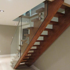 contemporary staircase by NathalieTremblay - Atelier Cachet