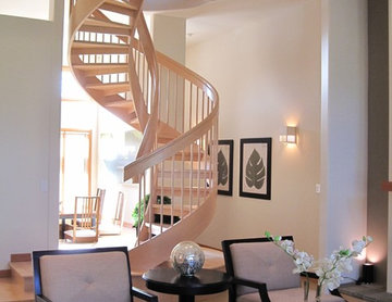 Double helix stair