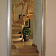 Asian Staircase by Tali Hardonag Architect