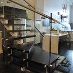 Lg house interior stairs modern staircase edmonton by thirdstone inc - Appartement duplex winder gibson architecte ...