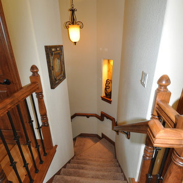 Dover II: stairs to lower level