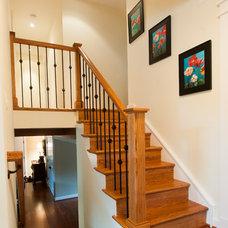 Craftsman Staircase by Ballard + Mensua Architecture