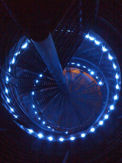 Modern Staircase by Erik Thompson - Quatro Lighting Designs