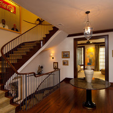 Traditional Staircase by Baxter Interiors