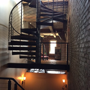 Industrial Treppe in Raleigh