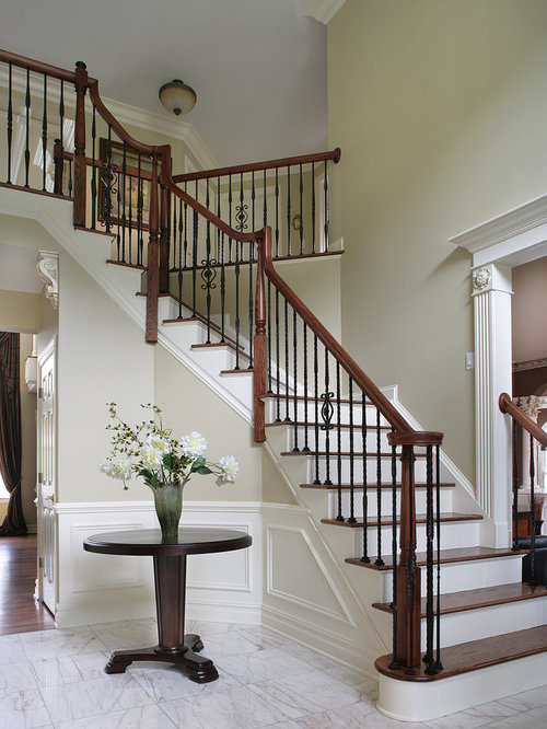 Wood And Iron Staircase Houzz