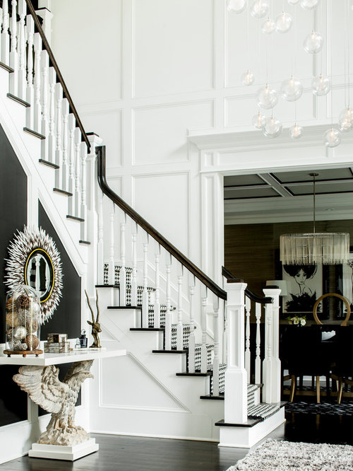 Dramatic Foyer Lighting : Dramatic foyer
