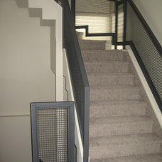 Contemporary Staircase by Pamela Der Interior Designer