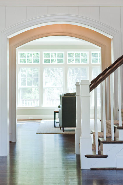 Transitional Staircase by Dream House Studios