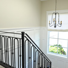 traditional staircase by Kerrisdale Design Inc