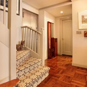 Duplex renovation and interiors