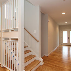 Contemporary Staircase by New City Construction