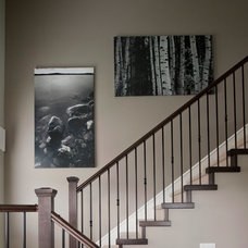Traditional Staircase by Revival Arts | Architectural Photography