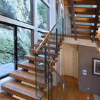 Lyndale Street House Staircase And Hand Railing Modern