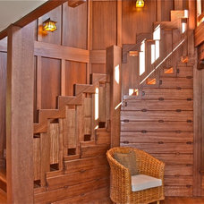 Craftsman Staircase by Arroyo WoodWorks