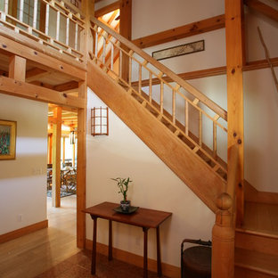 Example of a staircase design in Providence