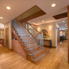 Contemporary Staircase by DxDempsey Architecture