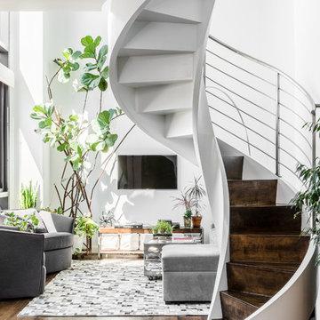 East Village Apartment - Living Room