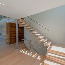 Contemporary Staircase by JKRC- Jason Klinge Residential Contracting