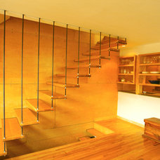 Modern Staircase by lewis + smith