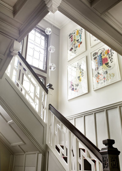 American Traditional Staircase by LDa Architecture & Interiors