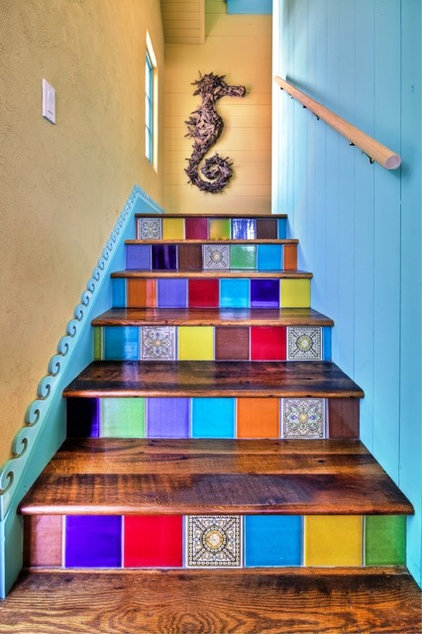 Eclectic Staircase Eclectic Staircase