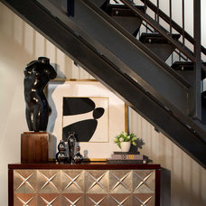 Eclectic Staircase by Elizabeth Cb Marsh