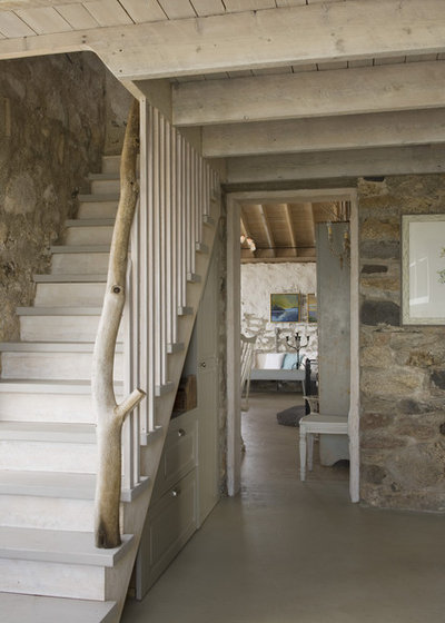 Rustic Staircase Eclectic Staircase