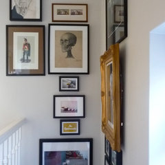 eclectic staircase by A Few Things From My Life