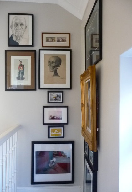 Eclectic Staircase by sarah & bendrix