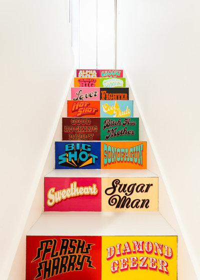 Éclectique Escalier Eclectic Staircase
