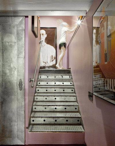 10 idee per decorare i gradini in modo creativo - Decorazioni pareti scale interne ...