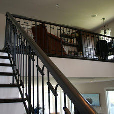 Eclectic Staircase by Southern Stair Company
