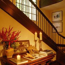 Mediterranean Staircase by Timothy Corrigan, Inc.