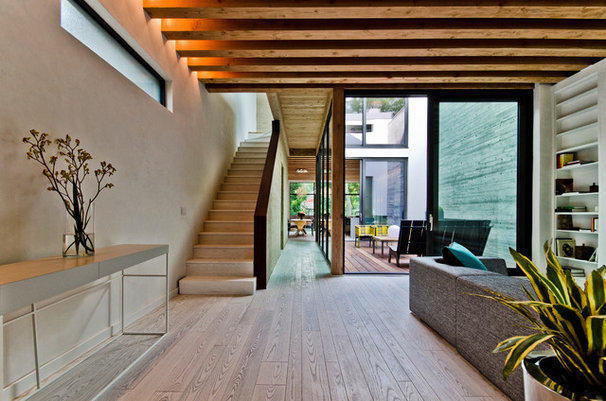 Contemporary Staircase by Alexandre Parent