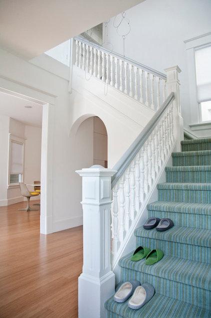 modern staircase by Three Legged Pig Design