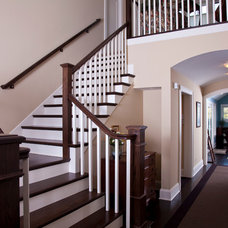 Traditional Staircase by TreHus Architects+Interior Designers+Builders