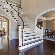 Traditional Staircase by The Vertical Connection Carpet One Floor and Home