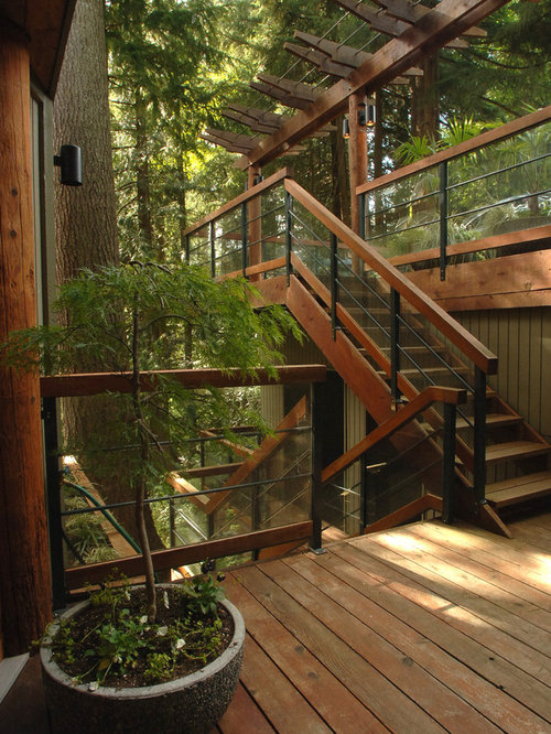 Outdoor Stair Railing Home Design Ideas, Pictures, Remodel ...