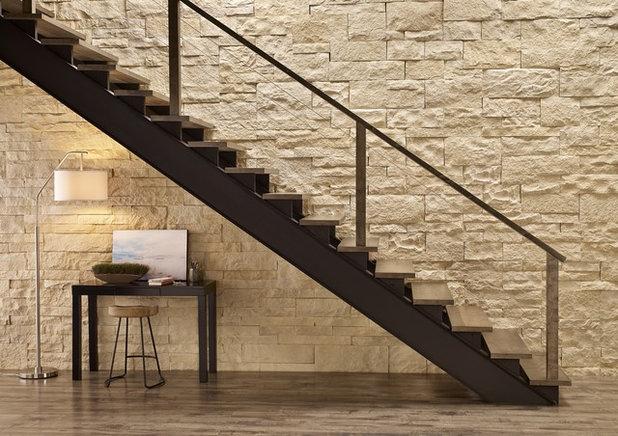 am nagez un espace de travail sous votre escalier. Black Bedroom Furniture Sets. Home Design Ideas