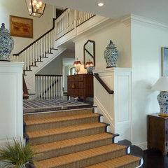 traditional staircase by Celebration Development Group