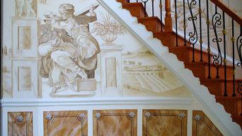 Elegant Foyer Staircase