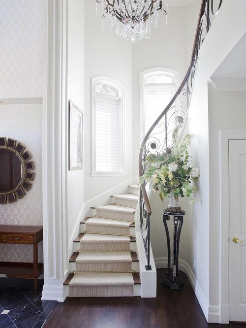 Elegant Staircase Houzz