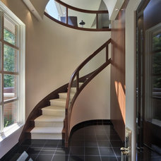 Contemporary Staircase by Millennium Cabinetry