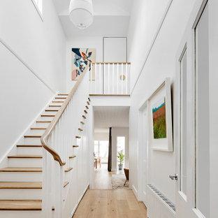 Exempel på en minimalistisk trappa
