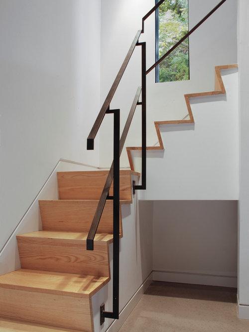 Contemporary Staircase Design Ideas Renovations amp Photos